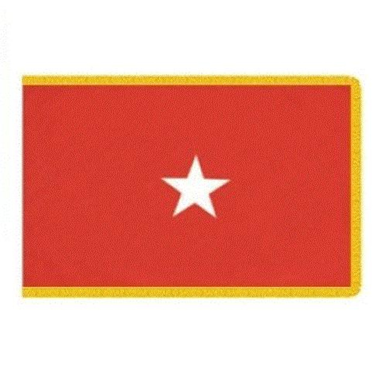 Army 1 Star Officer Indoor Flag