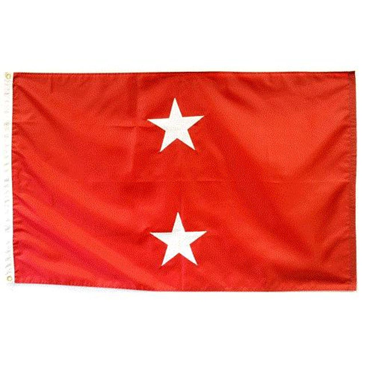Marine Corps 2 Star Officer Flag