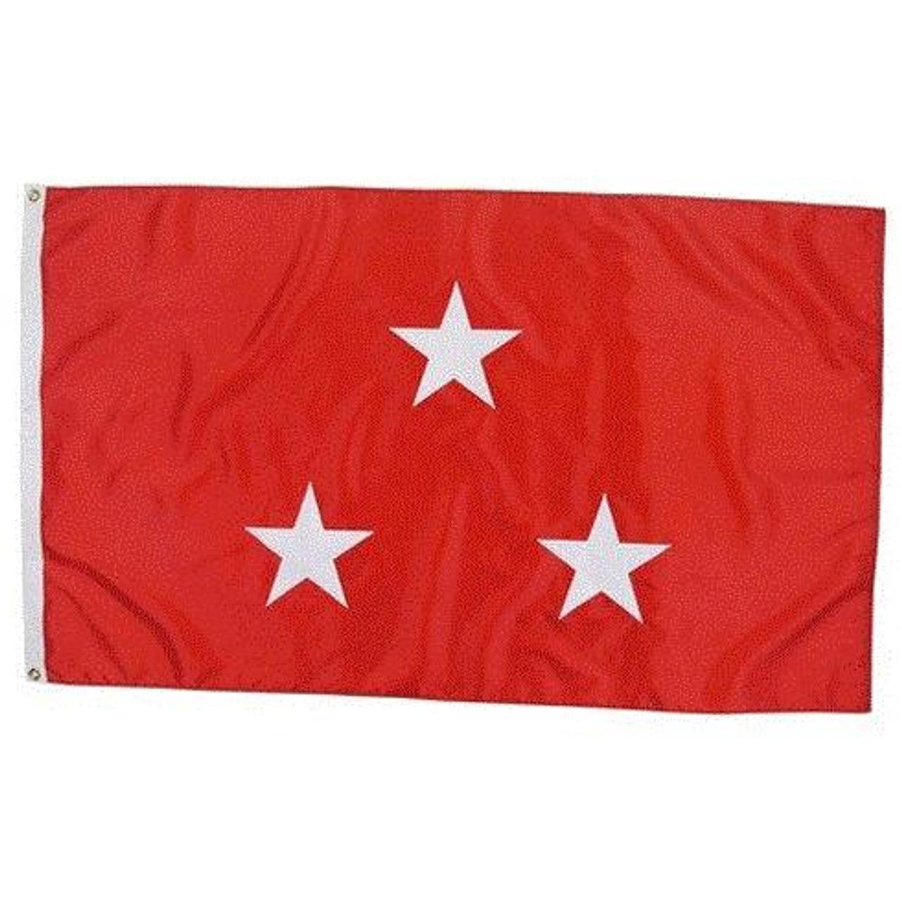 Marine Corps 3 Star Officer Flag
