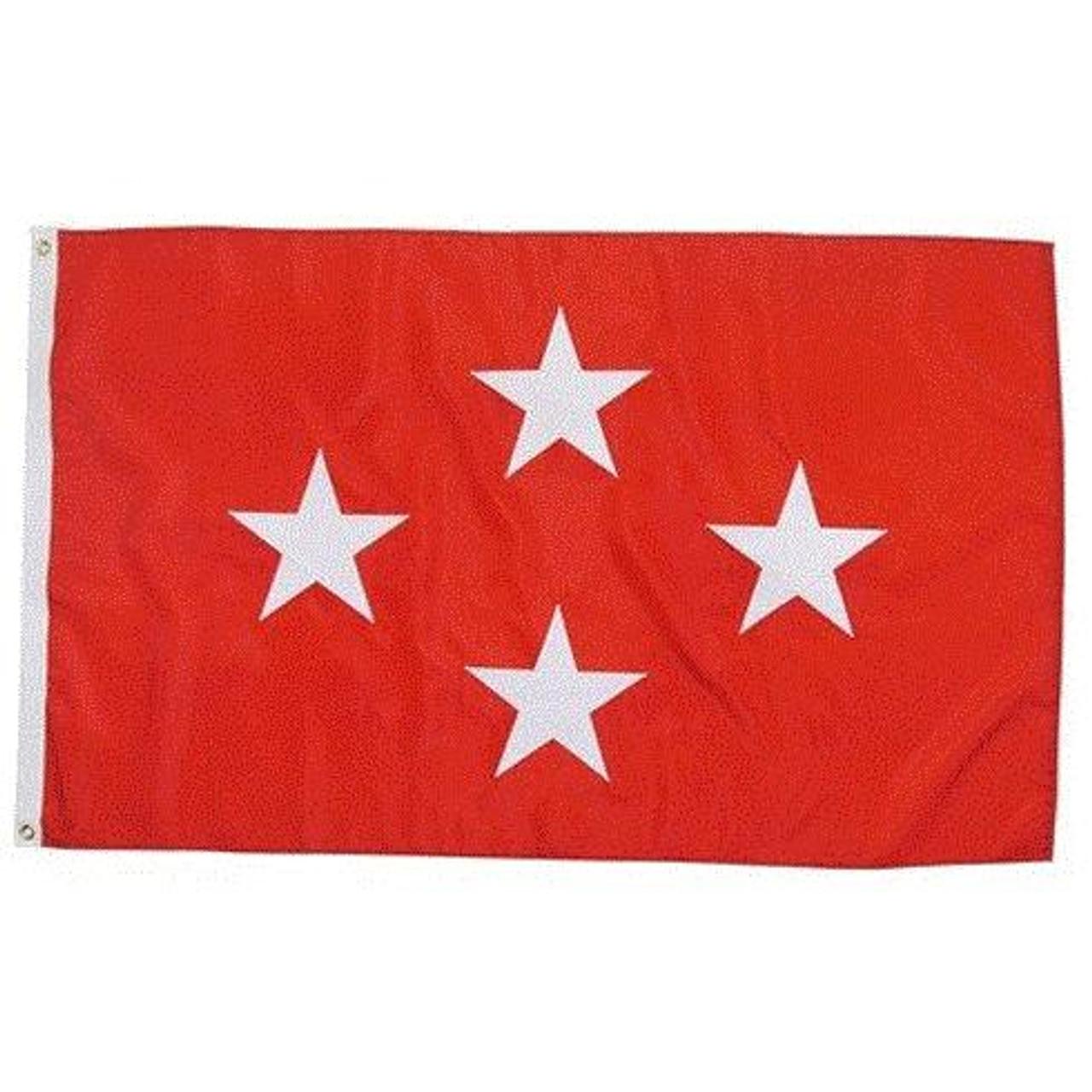 Marine Corps 4 Star Officer Flag