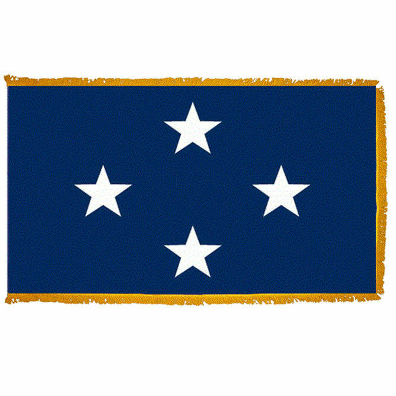 Navy Seagoing 4 Star Officer Indoor Flag