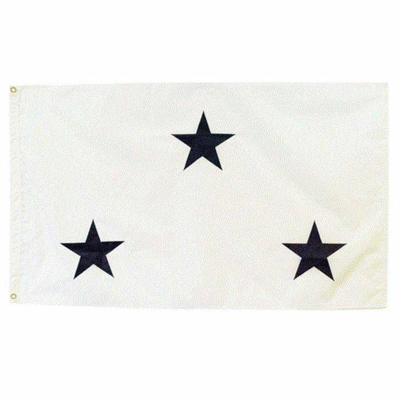 Navy Non-Seagoing 3 Star Officer Flag