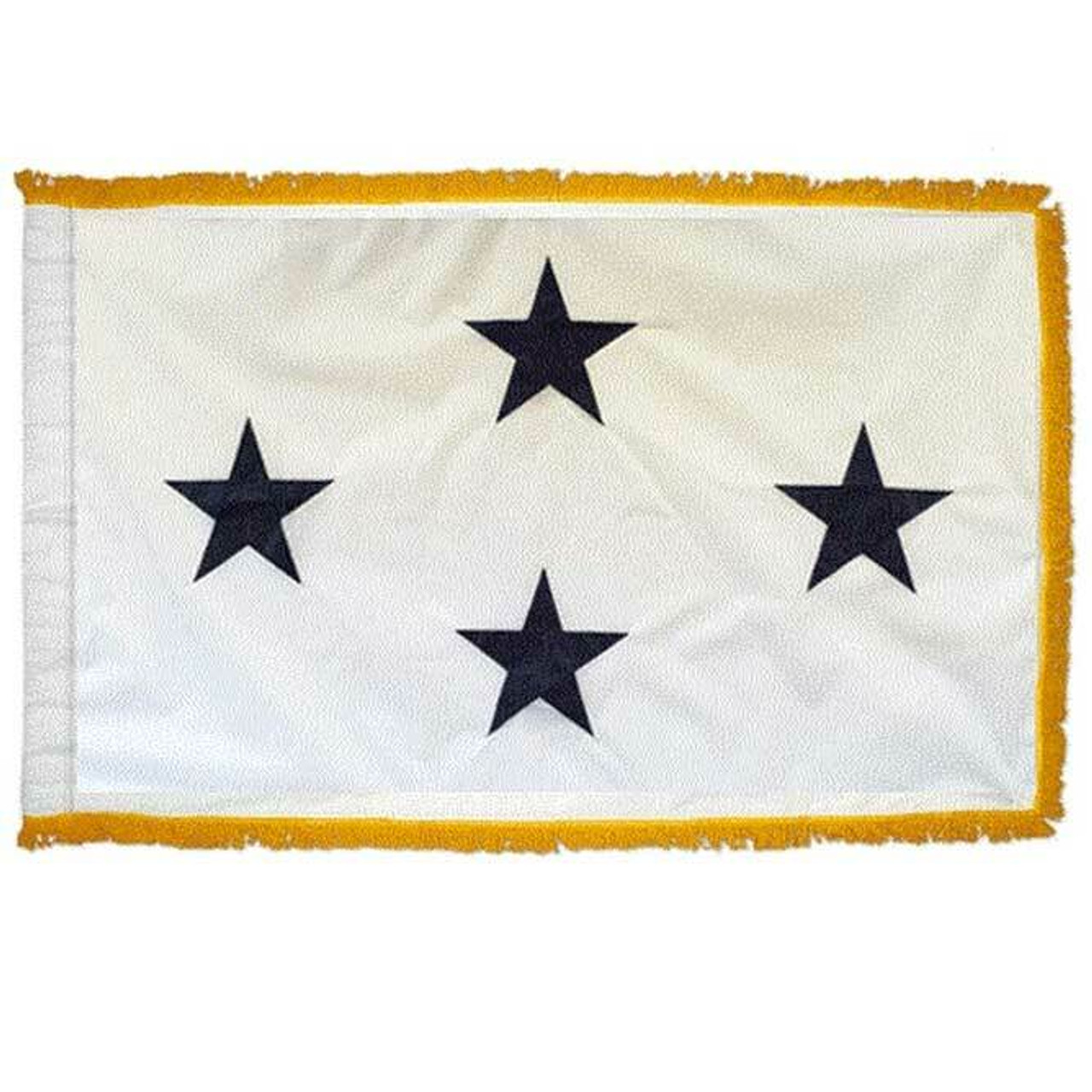 Navy Non-Seagoing 4 Star Officer Indoor Flag