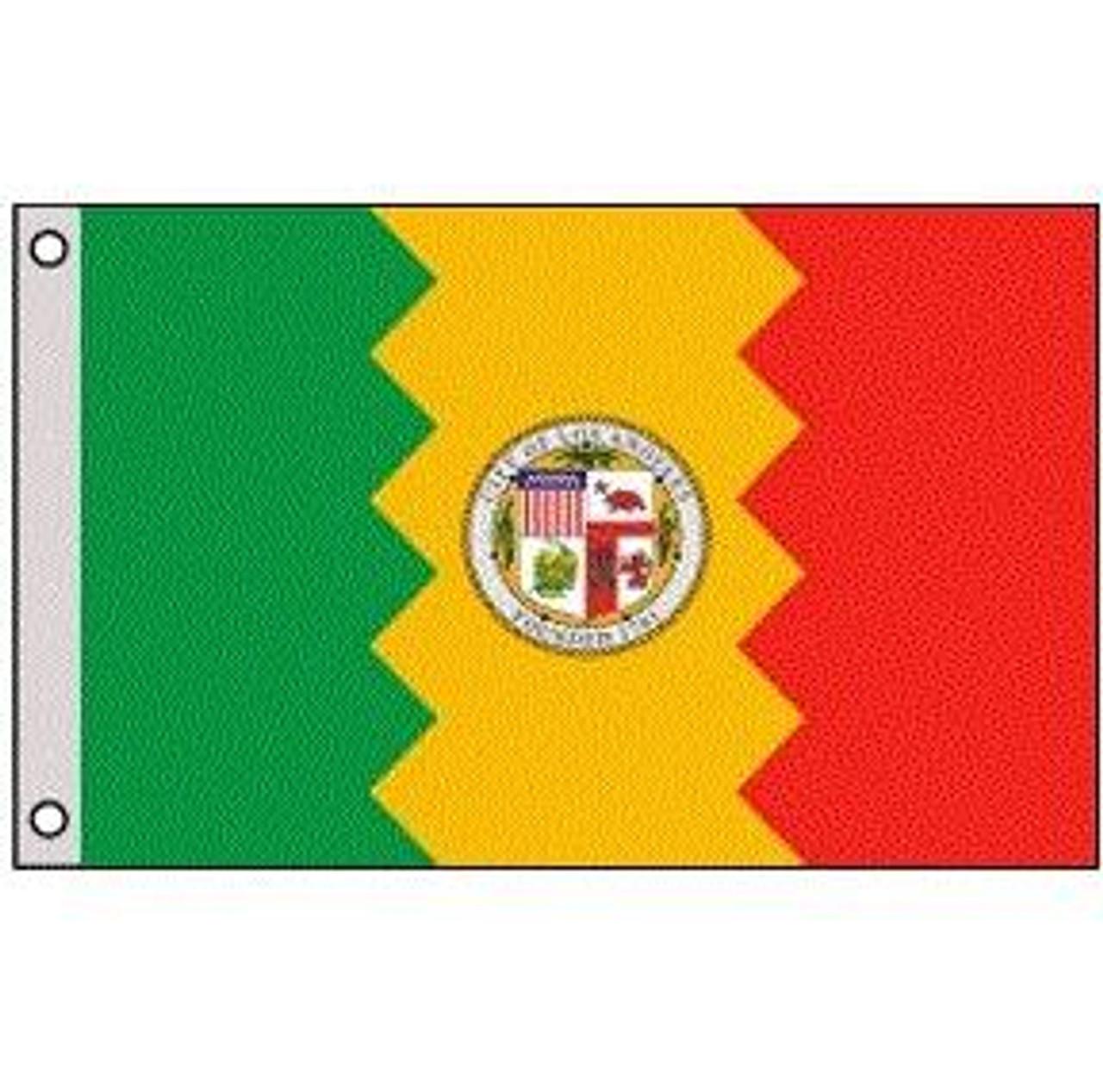 Los Angeles, CA Flag