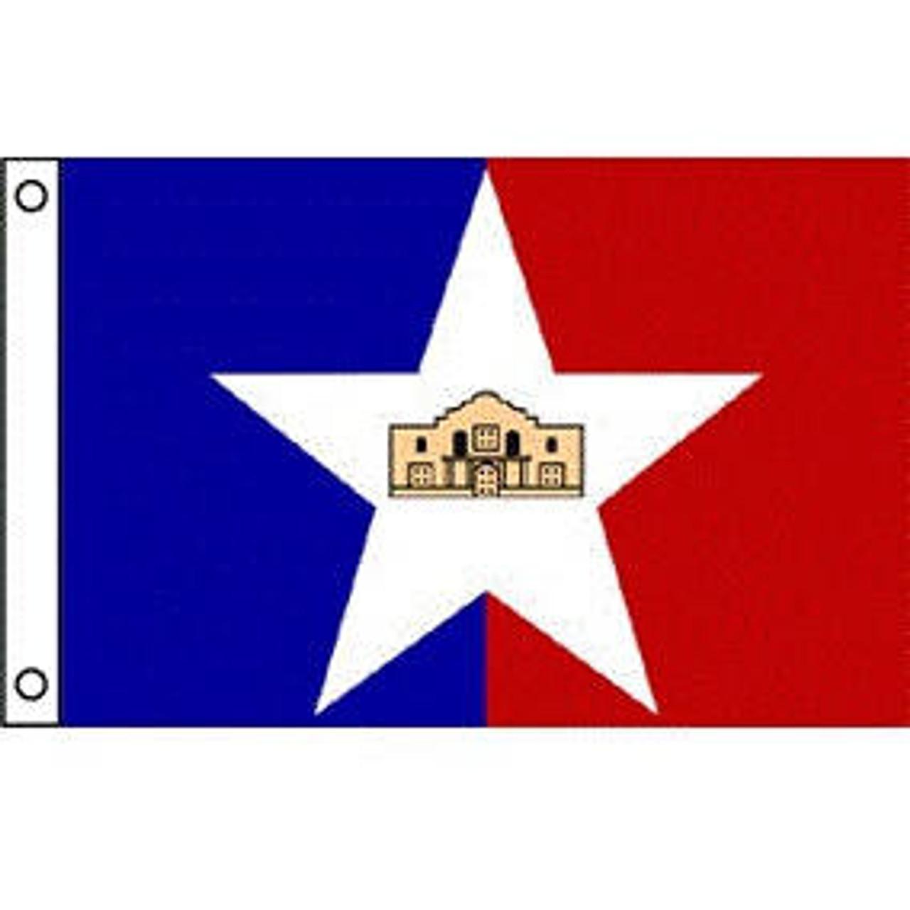 San Antonio, TX Flag