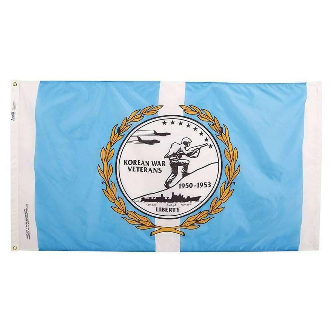 Korean War Veteran Flag