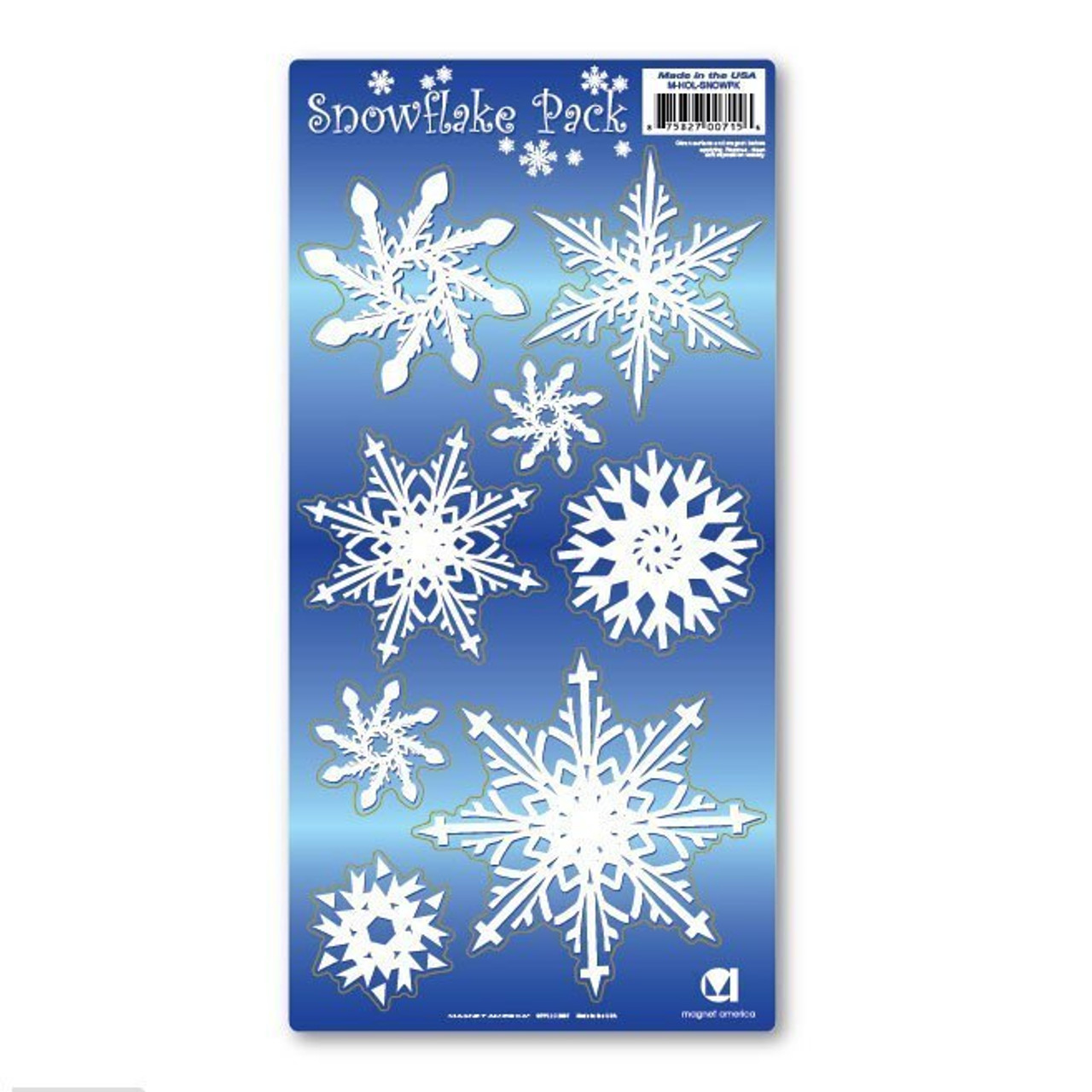 Snowflake Magnet Pack