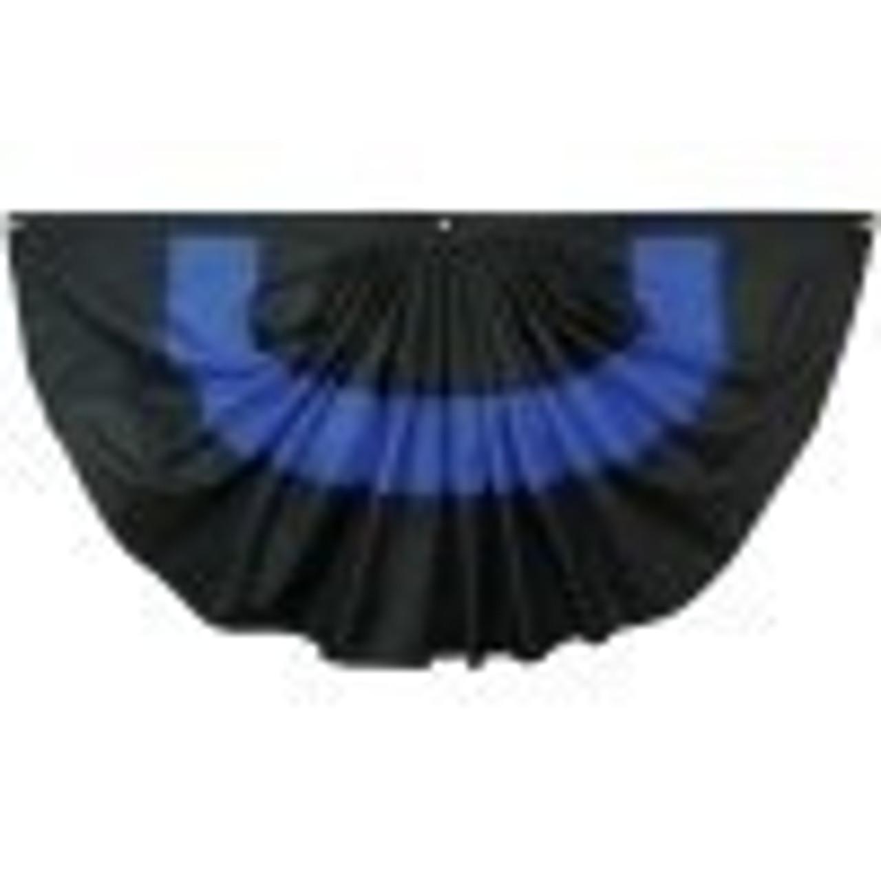 Thin Blue Line Fan 3 x 6 Nylon
