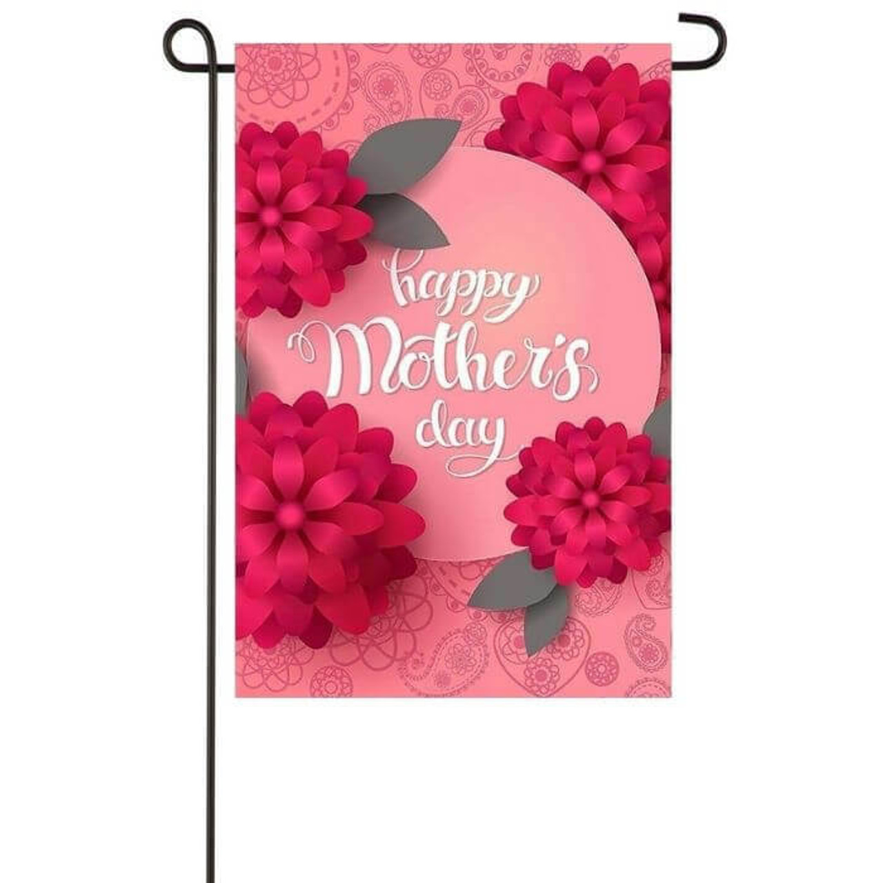 Happy Mothers Day Garden Flag