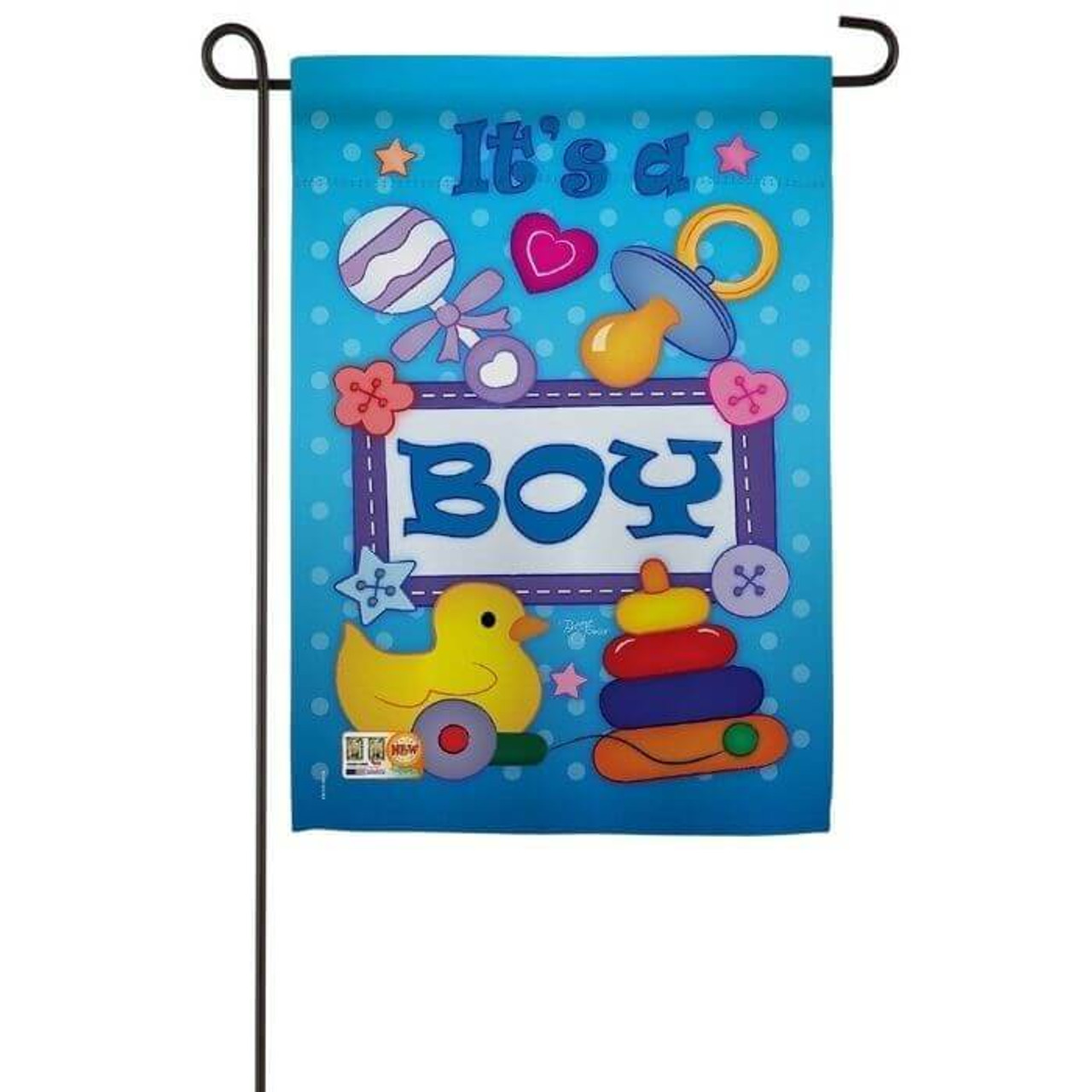 Its a Boy Garden Flag