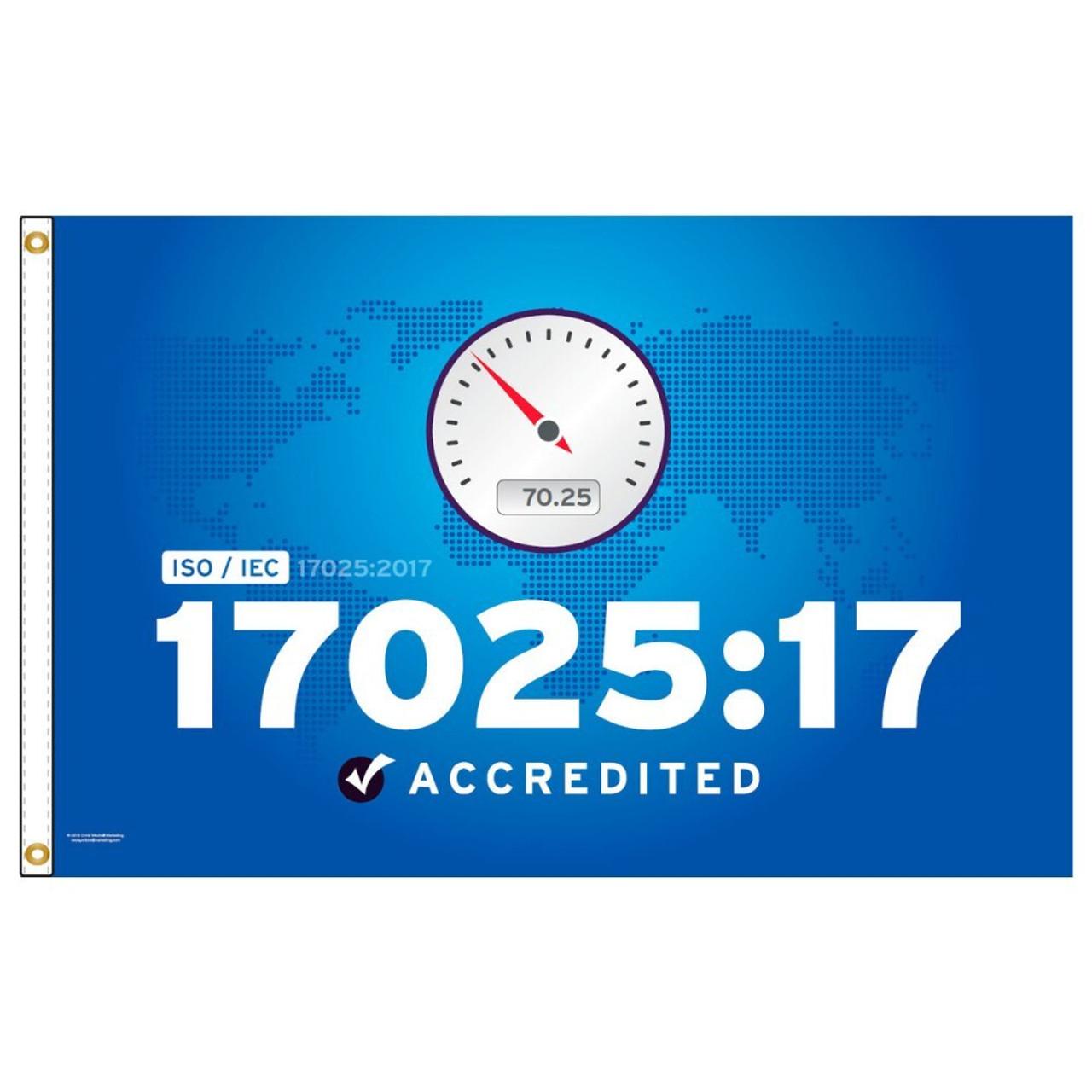 ISO/IEC 1702517 Flag