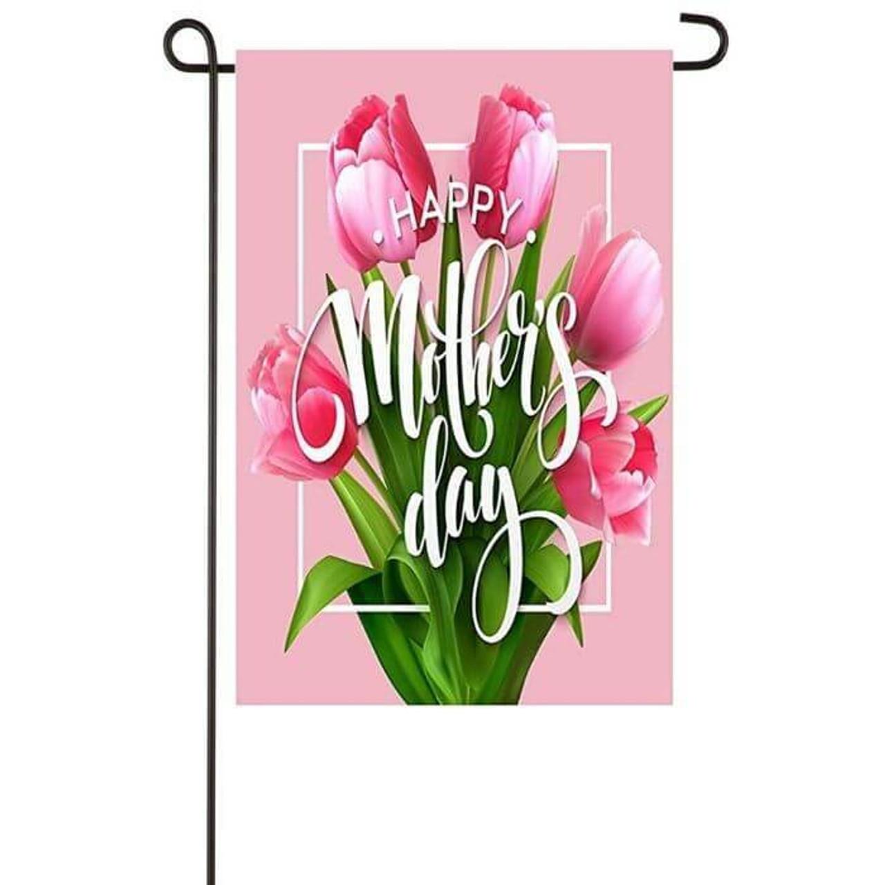 Mother's Day Bouquet Garden Flag