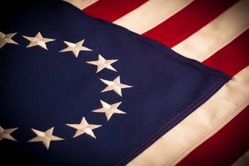 Betsy Ross Flag (cotton)