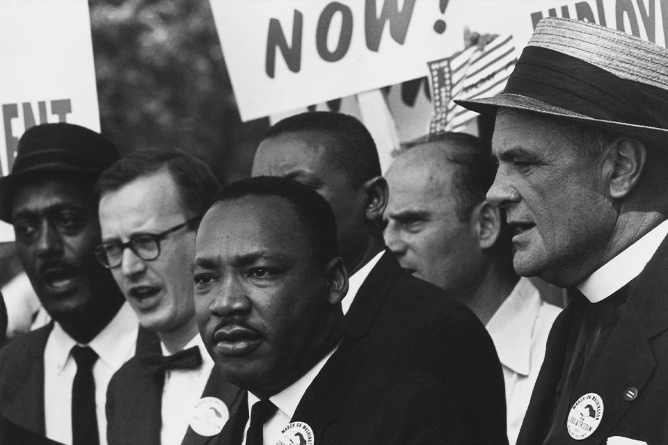 Celebrate Martin Luther King Jr. Day With Service and the American Flag