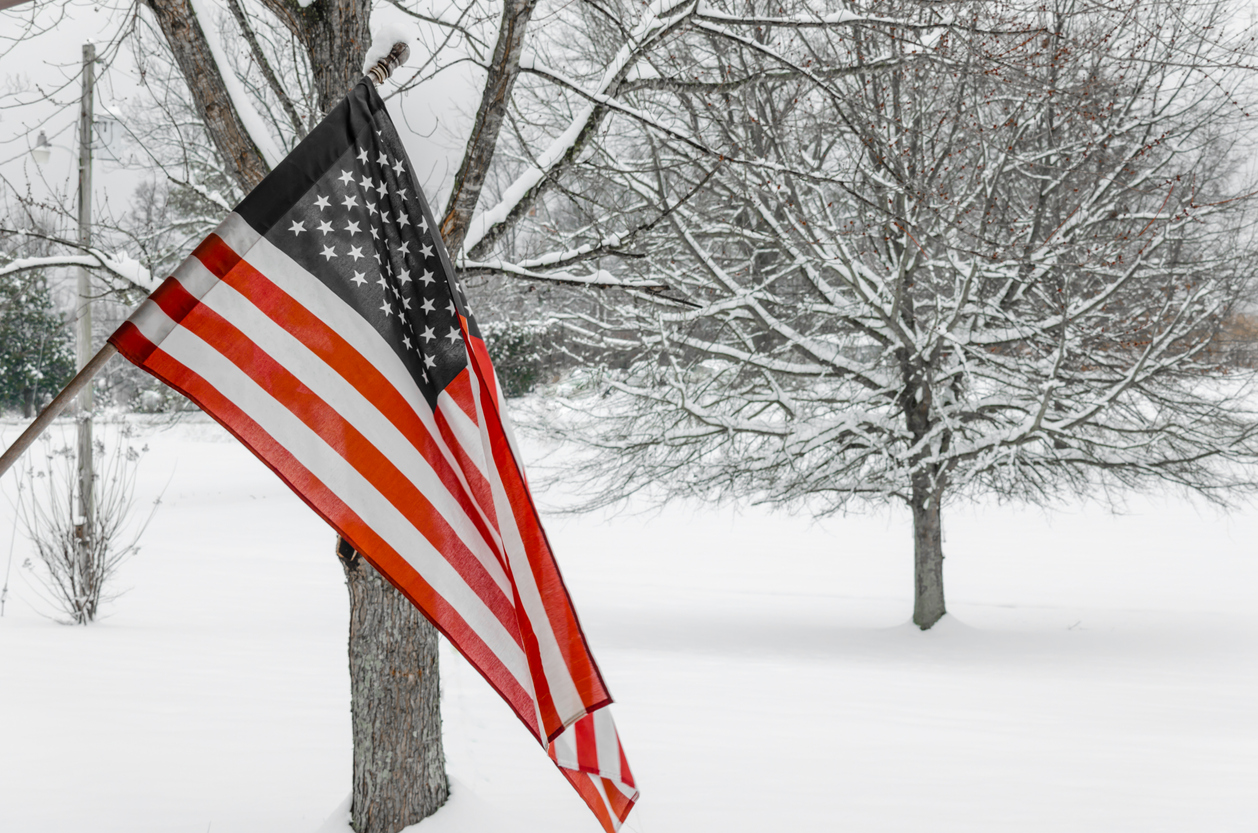 Winter Preparedness Flag  & Flagpole Tips
