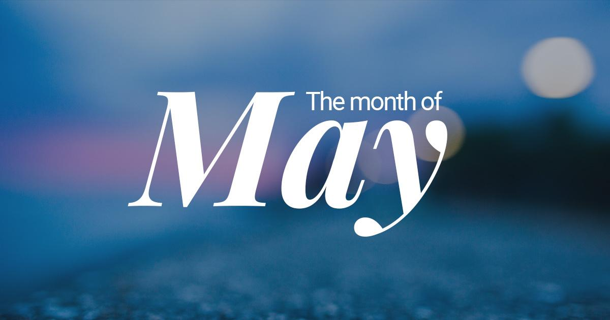 The Origin of the Month of May