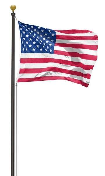 External Halyard Flagpole Image