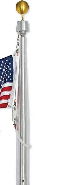 Internal Halyard Flagpole