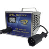 DPI Golf Cart Charger 48V 15A with Club Car Round Connector for Carts with OBC. Replaces Power Drive 2