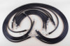 1/0 AWG Complete Cable Kit for Club Car Series DS 48V