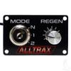 Alltrax FN-DM-KEY Performance Knob Dash Mount Panel w/Key Switch - XCT (Personality & Speed / Regen)