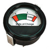 Round Analog Charge Meter: 48 Volts