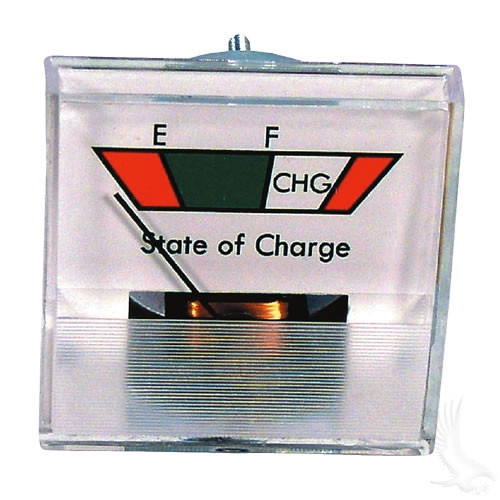 CHARGE METER, 36 VOLT, SQUARE ANALOG