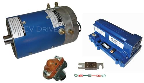 Speed And Torque Golf Cart Upgrade Kit - D&D ES-65-14 Motor, Alltrax XCT48500 IQ Controller & Accessories.