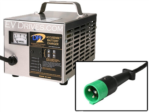DPI Battery Charger 72V 12A with StarCar Connector - Accusense Intelligent Charger
