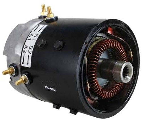 AMD (Advanced) Golf Cart Motor BT6-4002 (31036) 48-volt (3.5 hp) for Club Car 1984-up, AMD (Advanced) Series, High Speed