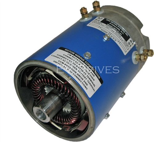 D&D ES-51-25 Golf Cart Motor, EZGO Series, Speed & Torque