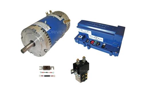 Conversion Kit - D&D ES-15-6 Motor, Alltrax SR72500 Controller, Contactor & Accessories