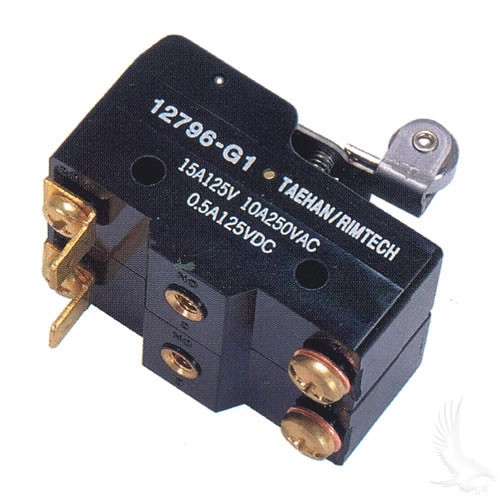 DOUBLE WIDE MICRO SWITCH CONTROLLER FOR EZGO MARATHON ELECTRIC 1989-1994 WITH SOLID STATE CONTROLLER