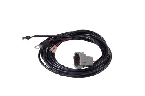 Delta-Q - Deutsch Harness (8Pin) LED - Battery Temp Sensor - NO-NC relay