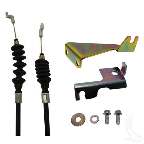 """GOVERNOR CABLE KIT, 20 3/4"""" LONG FOR CLUB CAR GAS 1997-2003 1/2"""