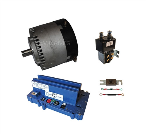 Conversion Kit - Motenergy ME1003 Motor, Alltrax SR72400 Controller, Contactor & Accessories
