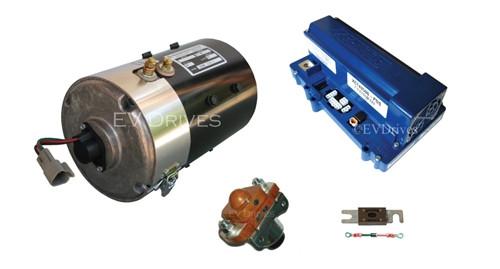 E-Z-Go PDS High Torque Kit - Advanced EY7-4001 Motor, Alltrax XCT48500 Controller & Accessories