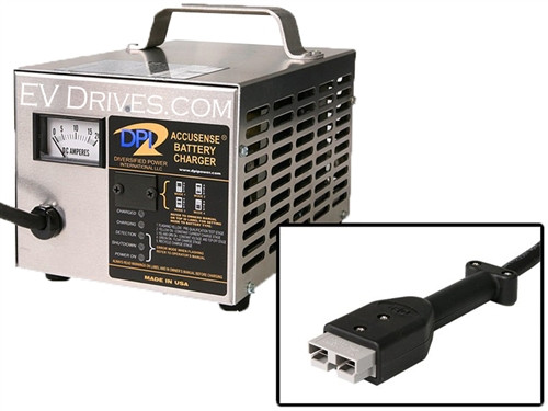DPI Battery Charger 72V 12A with SB50 Connector - Accusense Intelligent Charger