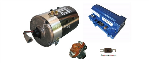 E-Z-Go DCS High Torque Kit - Advanced EY7-4001 Motor, Alltrax XCT48500 Controller & Accessories