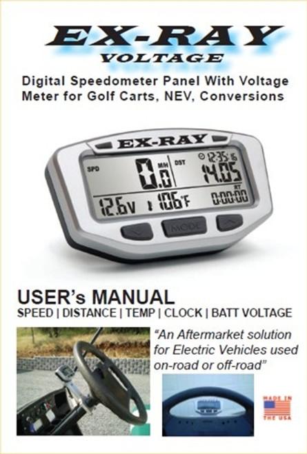 EXRAY Speedometer Operator Manual