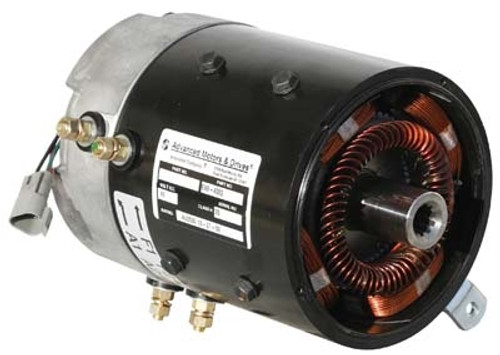 AMD (Advanced) Golf Cart Motor (7177) for Club Car IQ / Precedent & PD Plus (SepEx), High Torque, Very Efficient