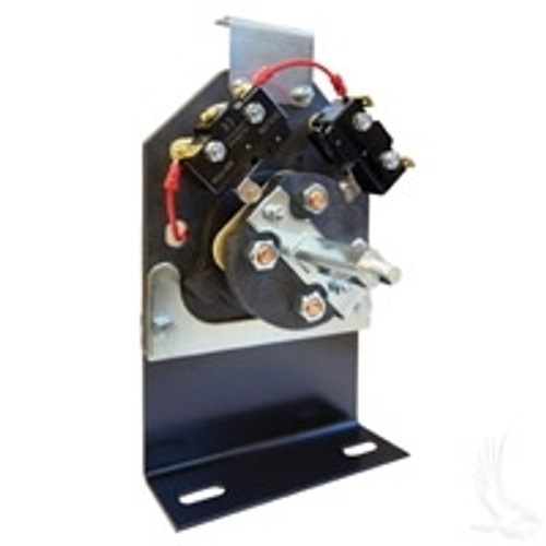 FORWARD & REVERSE SWITCH ASSEMBLY W/O HANDLE FOR EZGO MEDALIST/TXT NON-DCS ELECTRIC 1994 & UP