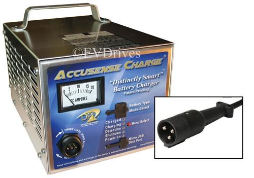 DPI Golf Cart Charger 48V 17A with G19 / G22 Connector - Gen IV - Accusense  Intelligent Charger | Dpi 48v Charger Wiring Diagram |  | EV Drives