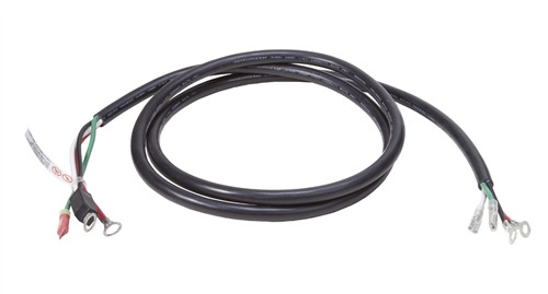 "Delta-Q IC650 DC Cable With 3/8"" Ring Terminals w/Temp Sensor & iLock"