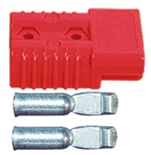 ANDERSON STYLE CONNECTOR SB-175 RED WITH 2 GAUGE PINS