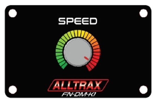 Alltrax FN-DM-K1 Performance Knob Dash Mount Panel - SR (Speed)