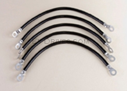 6 AWG Battery Cable Kit for Yamaha G22 - 48V 2003 & Newer