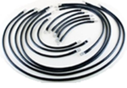 1/0 AWG Complete Cable Kit for E-Z-Go Marathon Series 36V
