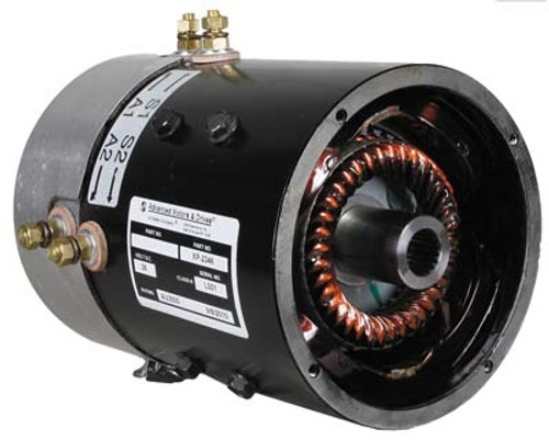 36 Volt 6.1HP 19-Spline Speed Motor (Fits Select E-Z-GO and Yamaha Models)