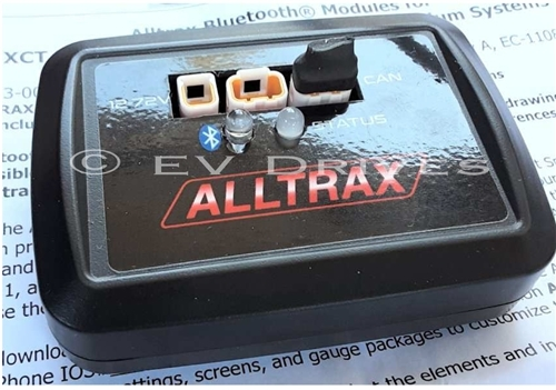 Alltrax Bluetooth Modules for XCT Motor Controllers